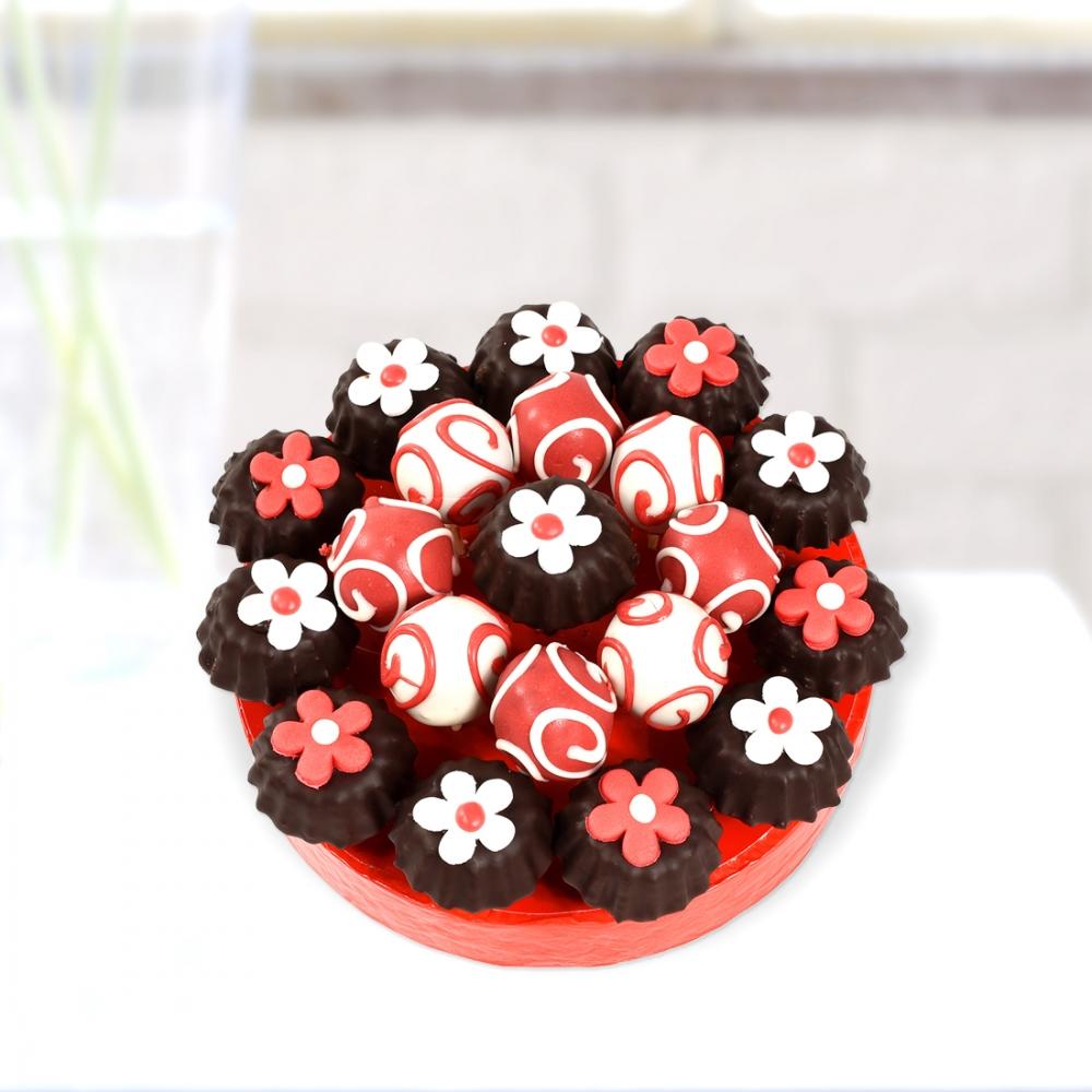 Çiçekli Kurabiye Pastası