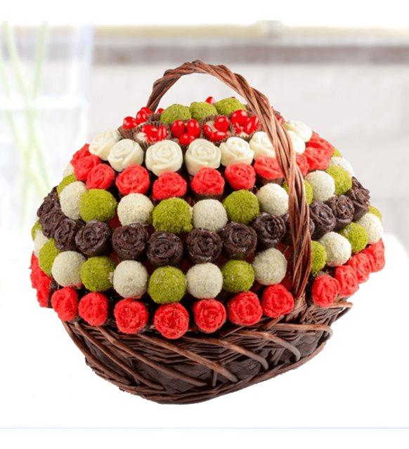 Havalı Çikolata Sepeti