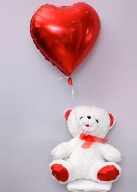 Kalpli Uçan Balon ve Ayıcık