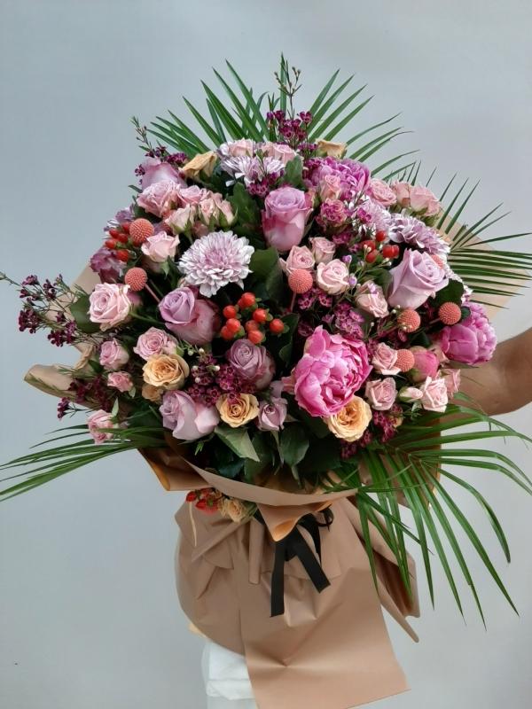 Lüks İthal Çiçek Buketi