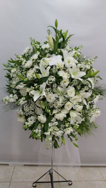 Beyaz Ferforje Düğün Çiçeği