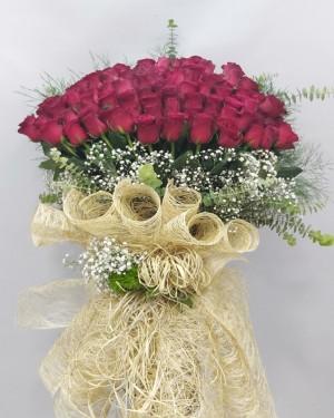101 Rodos Gül İsteme Nişan Söz Çiçeği