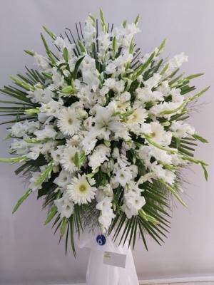 Ferforje Çiçek Aranjman Düğün Açılış